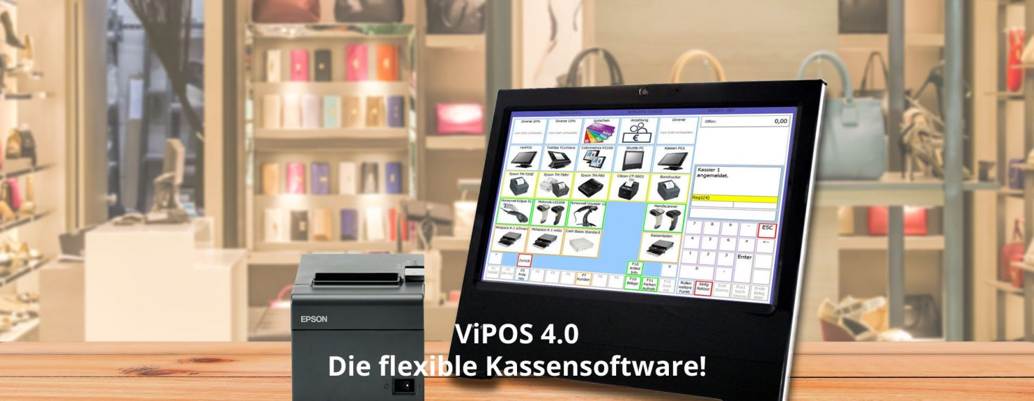 Flexible ViPOS 4.0 Kassensoftware