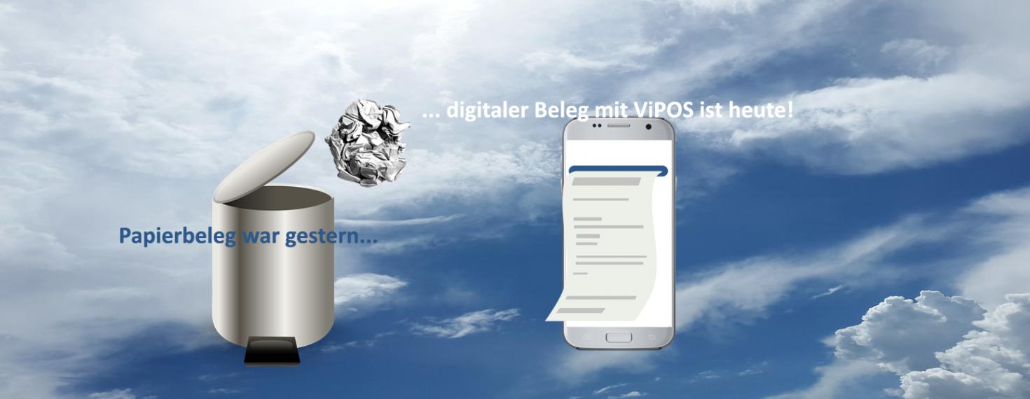 Digitaler Beleg mit ViPOS